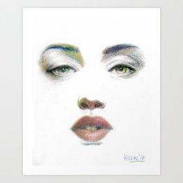 Bedroom Eyes Art Prints Society6