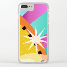 Festival of the Sun Clear iPhone Case
