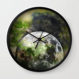 MOON under MAGIC SKY XIII Wall Clock