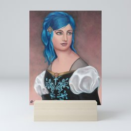 Frederica of Vienwray Mini Art Print