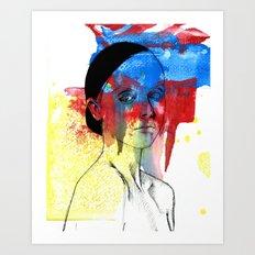 Ricci Art Print