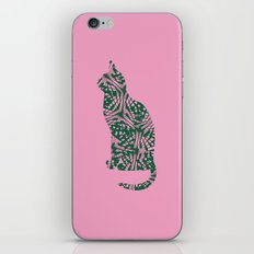 The lovely cat iPhone & iPod Skin