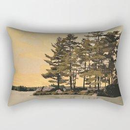 Frontenac Provincial Park Poster Rectangular Pillow