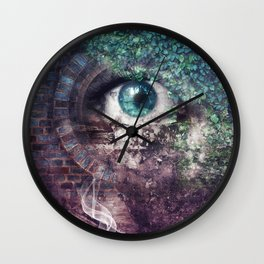 CONQUEST OF PARADISE Wall Clock