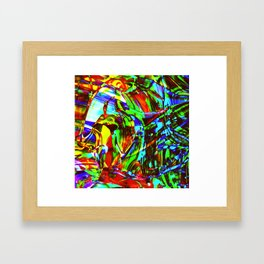 Fluid Painting 2 Framed Art Print