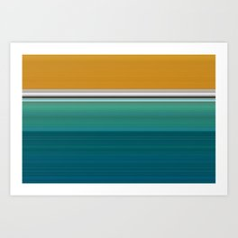 Swimming Pool Abstract Art Print