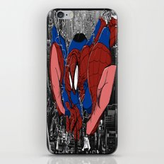 Spidey and the City iPhone & iPod Skin