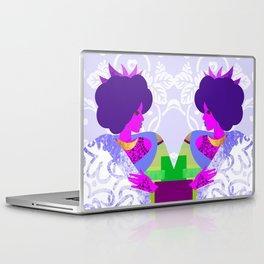 Queen's Robe Laptop & iPad Skin