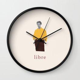 Libre (Free) Wall Clock