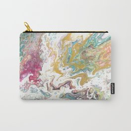 White Oasis Carry-All Pouch
