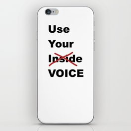 Use Your Voice iPhone Skin