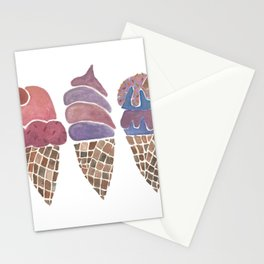 Ice Cream Cones - Group Stationery Cards