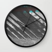 stockholm Wall Clocks featuring Stockholm by FABIAN•SMITH