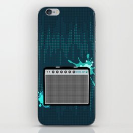 Reverb Electric Amplifier iPhone Skin
