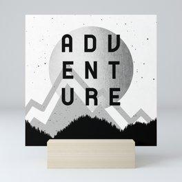 Adventure Silver Sunrise Mini Art Print
