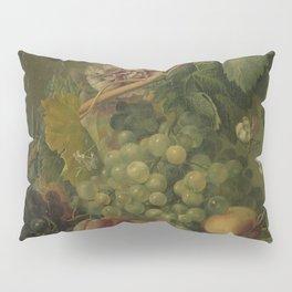 Still Life with Flowers and Fruits, Albertus Jonas Brandt (1816 - 1817) Pillow Sham