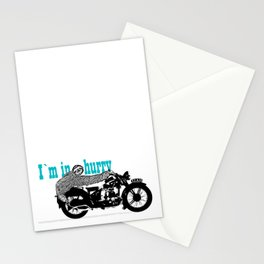 Sloth - easy rider Stationery Cards