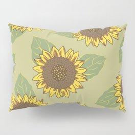 Vintage Sunflowers Pillow Sham
