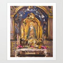 Chapelle III Art Print