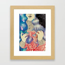 First Born Framed Art Print