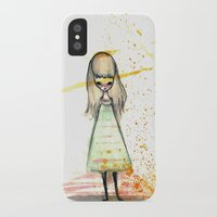 sister iPhone & iPod Cases featuring Sister by solocosmo