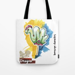 Dragon Horoscope Tote Bag