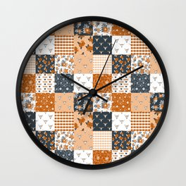 Texas Longhorns University varsity football sports fan college gifts Wall Clock
