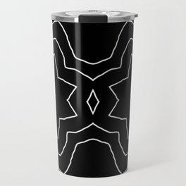 Black and white 1 Travel Mug