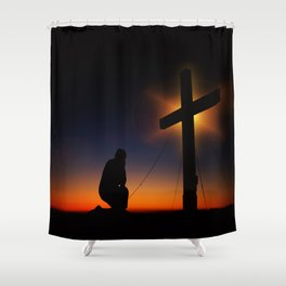 Christian Faith Shower Curtain