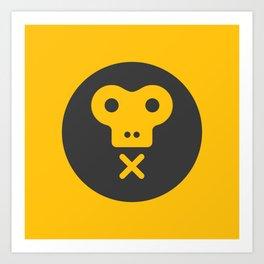 The Monkeys Order Art Print