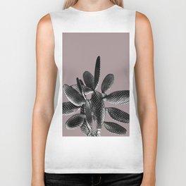 Black Mauve Cactus #1 #plant #decor #art #society6 Biker Tank