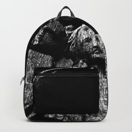 shot on iphone .. madonna & child Backpack