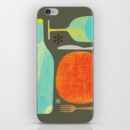 Wine & Dine Kitchen Art iPhone Skin