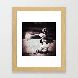 Catch 2 Framed Art Print