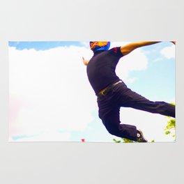 Flying Luchador Rug