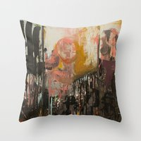 ramen Throw Pillows featuring Ramen Noodles by Chad Beroth