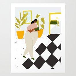 The Foryer Art Print