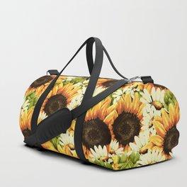 Summer Garden (Sunflower Sunshine) Duffle Bag