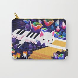 Piano Cat in the Forest Carry-All Pouch