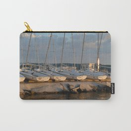 Boats docked in Door County Carry-All Pouch