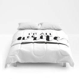 I'm All Write Comforters