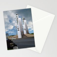 unreal illusion City 21x Stationery Cards