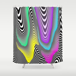 Melting Candy Shower Curtain