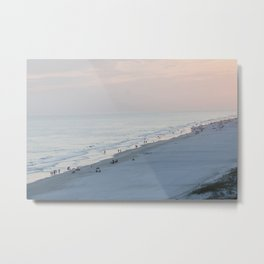Sea Meets Land Metal Print