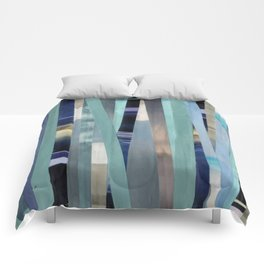Sea(scapes)stripes Comforters
