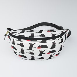 Cats-Black&White Fanny Pack