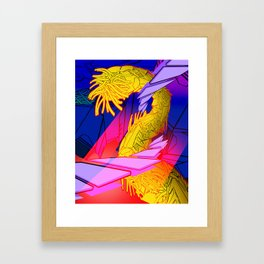 AUTOMATIC WORM 7 Framed Art Print