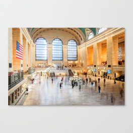 Shadows of Grand Central Canvas Print