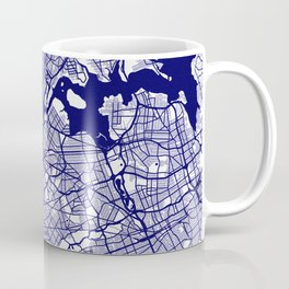 New York City Map 02 Coffee Mug