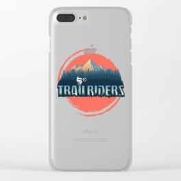 Trailriders Clear iPhone Case